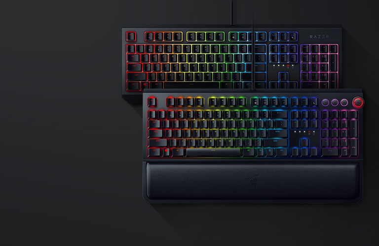 RAZER BLACKWIDOW 対 RAZER BLACKWIDOW ELITE