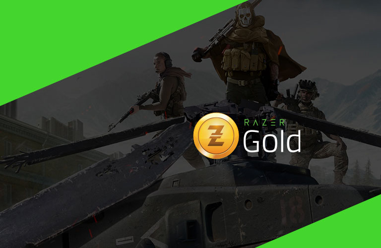 Reload your Razer Gold from the comfort of home