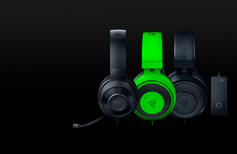 EXPLORE THE RAZER KRAKEN FAMILY