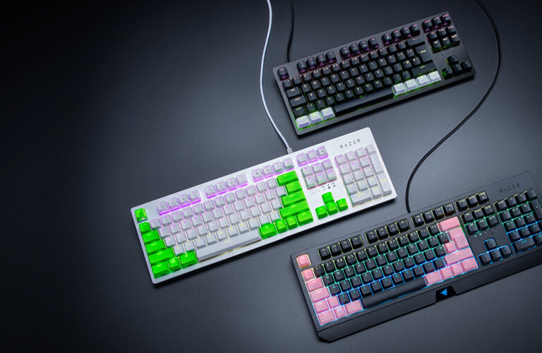WORKS WITH POPULAR KEYBOARD LAYOUTS