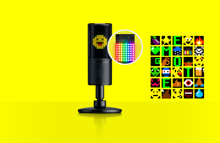 8-bit Emoticon led display